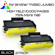 2PK TN580 JUMBO Toner for TN-580 Brother MFC-8460N 8660DN HL-5240 5270DN DCP-806