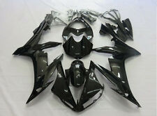 Gloss Black Plastic Bodywork Fairing Kit For Yamaha YZF-R1 YZF R1 2004 2005 2006