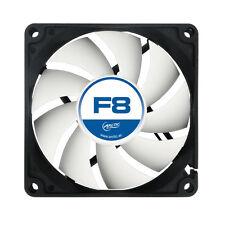 ARCTIC F8 80MM 8CM PC Gaming case fan silenziosa, High Performance 6yr Wty