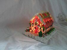 Gumdrop Candy Lighted House Christmas Holidays