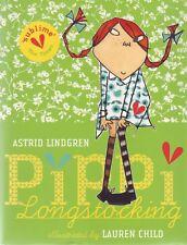 Pippi Longstocking Gift Edition by Astrid Lindgren (illus Lauren Child)