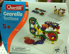 QUERCETTI GEORELLO TOOLBOX Set 165 PCS. #6127 STEM Toy NIB