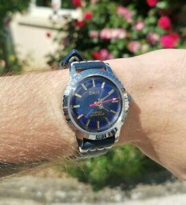 Montre ORIS Swiss Made 17 Jewels Watch De Luxe Vintage