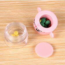 Storage Compartment Tablet Crusher Pill Box Cutter Pulverizer