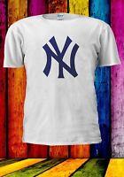 NY NEW YORK YANKEES MLB BASEBALL TEAM LOGO Men Women Unisex T-shirt 965