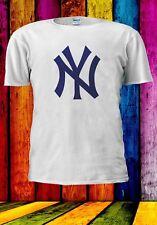 NY Nueva York Yankees MLB Béisbol equipo insignia de Hombre Mujer Unisex Camiseta 965