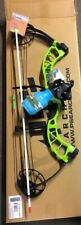 PSE D3 GREEN  Bowfishing Compound Bow,REST REEL FINGERS ARROW
