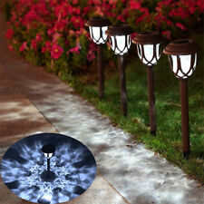 Outdoor Garden Solar Power Pathway Lights Landscape Lawn Patio Yard Stake Lamp