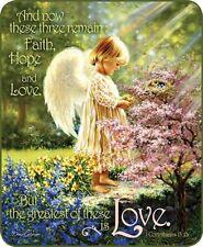 Queen Angels Tenderness Religious Scripture Love Hope Faith Blanket Super Plush