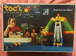 1967 Mattel TOG'L Vintage Building Blocks Construction Toy Play Set LOT Set# 300