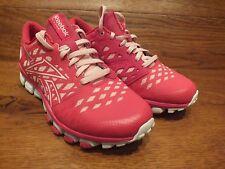 Reebok Realflex Vivid Pink Running Shoes Trainers Size UK 3 EU 35.5