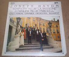 Liszt Chamber Orchestra HAYDN Symphonies No.49 & 45 Hungaroton SLPD 12468 SEALED