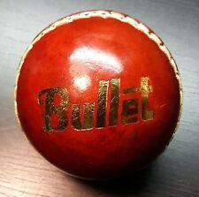 "Bullet Cricket Ball 125g 3"" lightly used Vgc"
