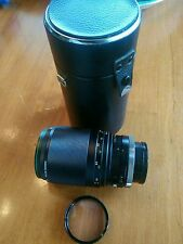 SPIRATONE PROXITEL YS 1:4 f=200MM LENS and Case