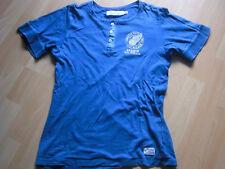 Zwei T-Shirts von H&M und Metro in Blau, Gr. 140 cm / 10 JAHRE