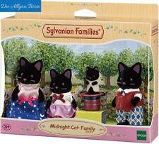 Sylvanian Families 5530 schwarze Katzen Familie Midnight Cat Epoch Neu OVP