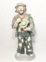 The Emmett Kelly Signature Collection Clown holding cabbage limited edition #243