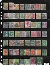 #6001  Early stamp collection /  100+ All different 1880-1930 / Pre 1930 Germany