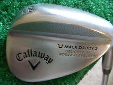 callaway Mack Daddy 2 Chrome RH 56*Sand wedge Dynamic Gold wedge steel 34.5 inch