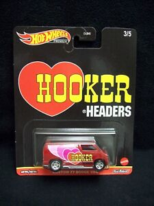 Hot Wheels Hooker Headers 1977 Dodge Van.