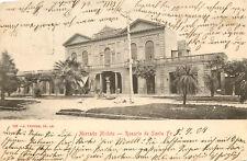 Vintage Postcard Mercado Modelo Rosario De Santa Fe Argentina