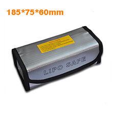Fireproof Explosionproof Lipo Battery Safe Bag Lipo Battery Guard 185x75x60mm