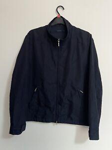 Vintage Valentino Jeans Bomber Jacket zip Up Mens Size 52 / Xl