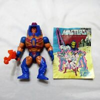 1982 Man-E-Faces Figure W/ Original Mini Comic Book Masters Of The Universe MOTU