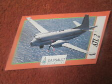 AUTOCOLLANT STICKER AUFKLEBER DASSAULT AVIATION ATLANTIQUE 2 ATL 2 MARINE