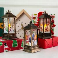 KE_ GI- Snowman/Santa/Elk Christmas LED Candle Tea Light Lamp Home Xmas Decor