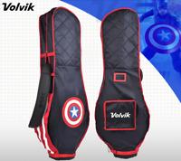 Volvik New Premium Marvel Captain America Travel Golf Bag Cover Hood Case Carry