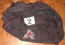 PHOENIX COYOTES rare black defunct style equipment bag (from 1996-2002 seasons)