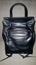 Alexander Wang Black Prisma Skeletal Fold Over Bag Handbag / Backpack