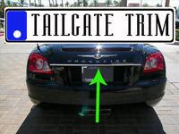 Chrysler CROSSFIRE 2004 2005 2006 2007 2008 Chrome Tailgate Trunk Trim Molding