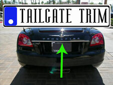 Chrysler Crossfire 2004 2005 2006 2007 2008 Chrome Tailgate Trunk Trim Molding (Fits: Chrysler Crossfire)