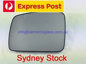 LEFT PASSENGER SIDE LAND ROVER DISCOVERY 3 2005-2009 MIRROR GLASS WITH BASE