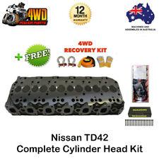 Nissan Patrol GQ GU TD42 Cylinder Head Kit 6 Cyl 12V Diesel w/ VRS Gasket Bolts