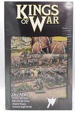 Kings of War 2nd Edition MGKWO110 Orc Army Starter Box Set (50) Miniatures NIB