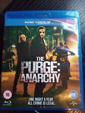 The Purge: Anarchy Blu-Ray (2014) cert 15