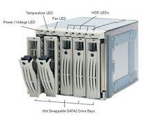 """Enlight EN-8721 3.5"""" SCSI SCA2 5 Bay Hot Swap Cage Drive Enclosure High Quality"""
