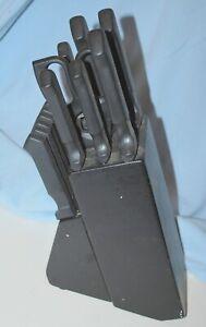 Faberware 13 Piece Stainless Steel Cutlery Knife Set includes Block