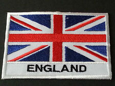 NATIONAL WORLD COUNTRY EMBROIDERED FLAG SEW/IRON ON PATCH:- UNION JACK ENGLAND