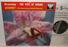 SXL 2042 Stravinsky The Rite Of Spring L'OSR Ansermet BBB
