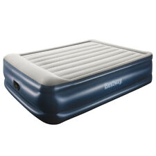 Bestway Air Bed Beds Queen Size Mattress 56cm Premium Inflatable Built-in Pump