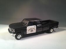 HO 1/87 Trident # 90212 Ford Extended-Cab Pick-Up -California Highway Patrol B&W