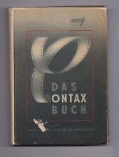 Dr. Otto Croy - Das Contax Buch - Auflage 11.-20 Tausend
