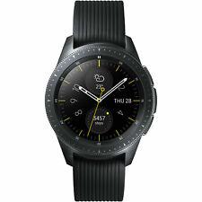 SAMSUNG Galaxy Watch 42mm LTE Edelstahl Silikon S, L, Schwarz NEU&OVP