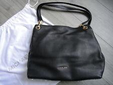 MICHAEL KORS Tote Bag RAVEN schwarz Handtasche Sac Leather Echt Leder XL