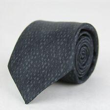 New Bottega Veneta Black and Gray Leopard and Dot Print Tie 355737 1062