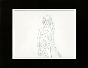Todd McFarlane Lilly Spawn HBO Original Production Cel Drawing 1997-98